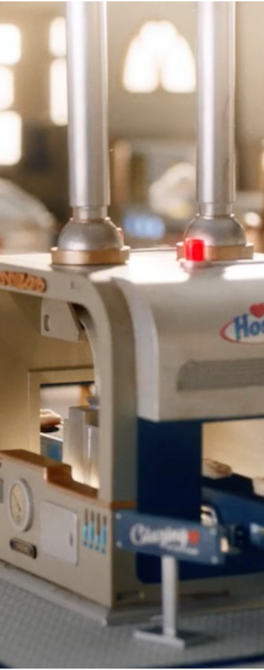 Hostess Cereal Commercial