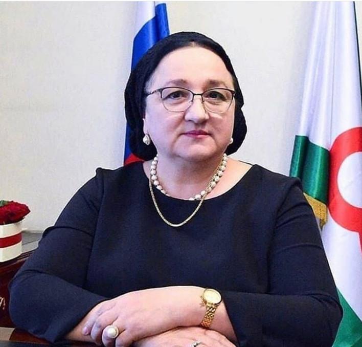 Поздравление министру здравоохранения Республики Ингушетия