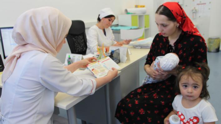 Грудное вскармливание — первая ступень к здоровью малыша