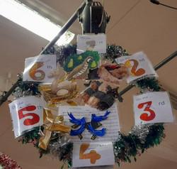 Twelve Days of Christmas Hoop