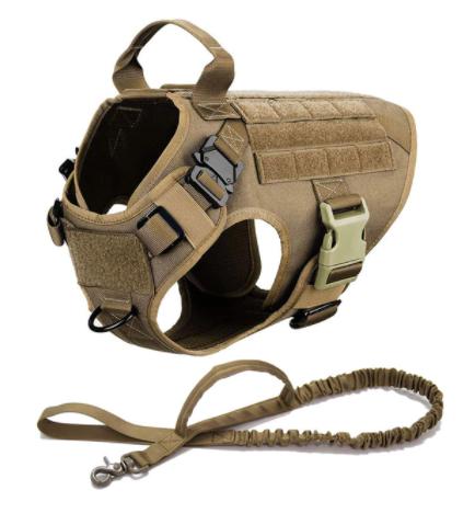 Tactical Vest & Leash