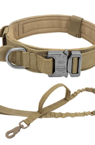 Tactical Collar & Leash