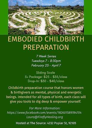 Embodied Childbirth Preparation