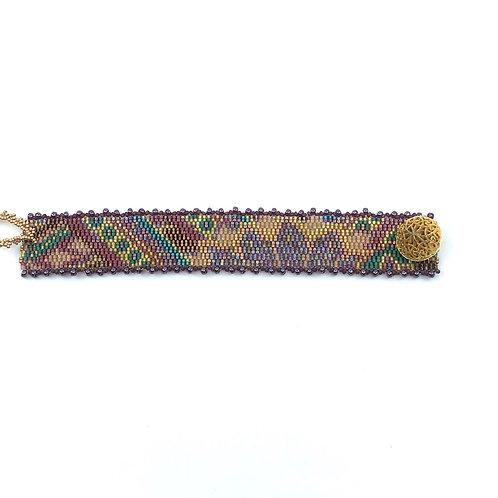 Bracelet fleur d'automne