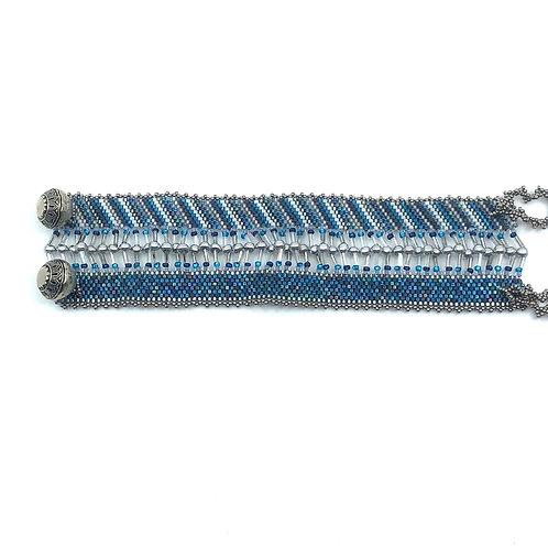 Bracelet mer de bleu