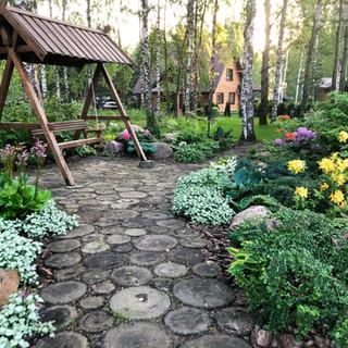 Качели садовые