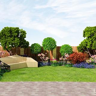 Садовая скамья