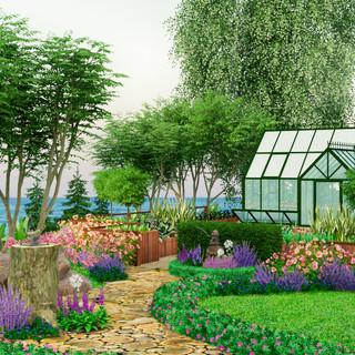 Теплица в стиле Hartley Botanic