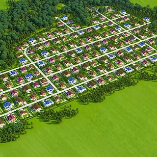 Генплан коттеджного поселка