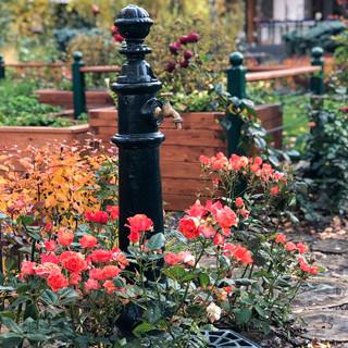 Садовая колонка