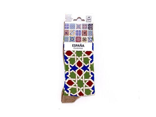 Calcetines Mosaico Alhambra - Souvenirs Granada