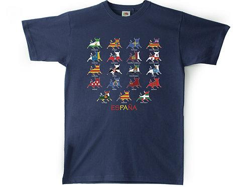 Camiseta Chico Souvenir de Granada -  TORO Comunidades