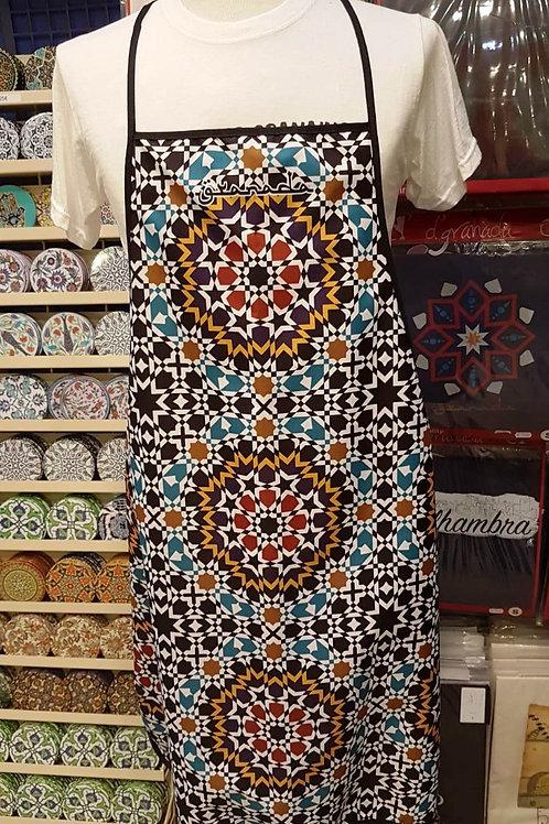 Delantal Mosaico Alhambra - Souvenirs Granada
