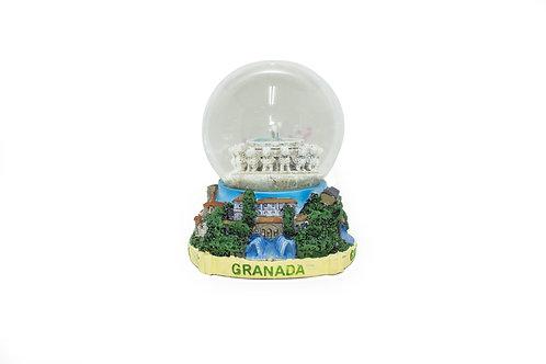 Bola de nieve Souvenir de Granada - Patio de los leones