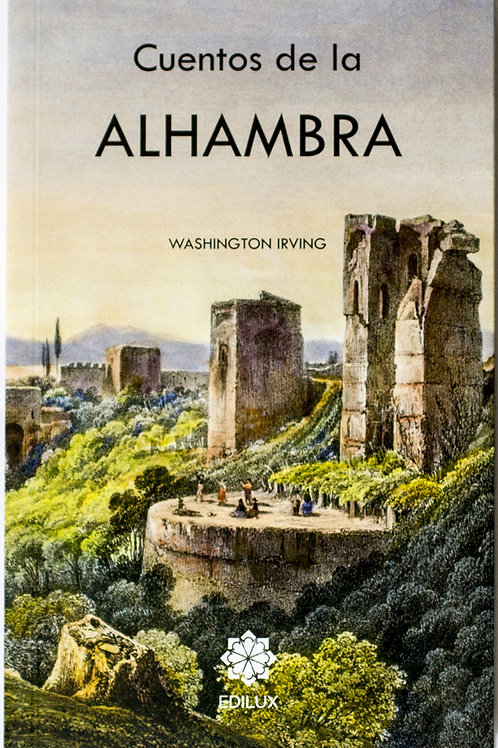 Libro Cuentos de la Alhambra, Washington Irving