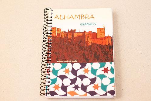 Libreta D´Granada Souvenirs - La Alhambra de Granada