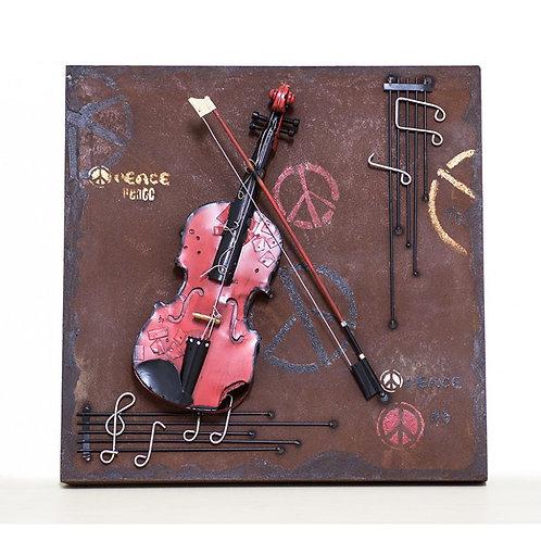 Cuadro Violín Music - Regalos Originales - D´Granada Souvenirs