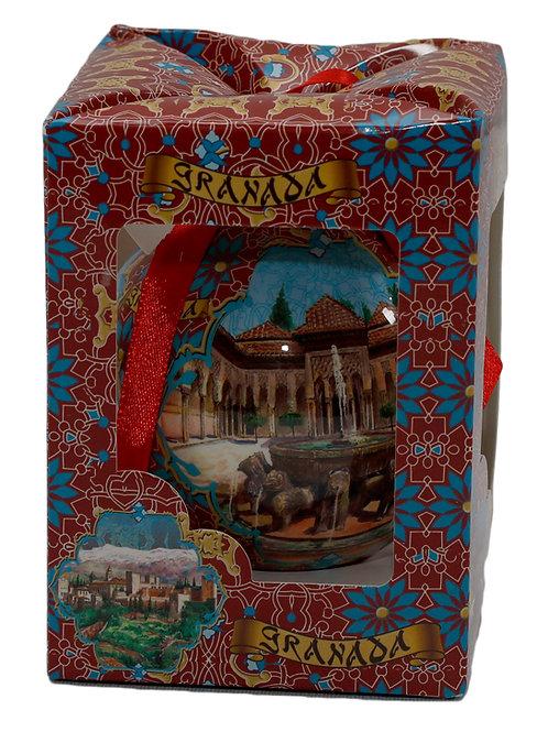 Bola-Alhambra-Patio Leones-Generalife - Souvenir Granada