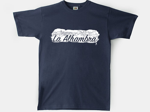 Camiseta Chico Souvenir de Granada -  Alhambra