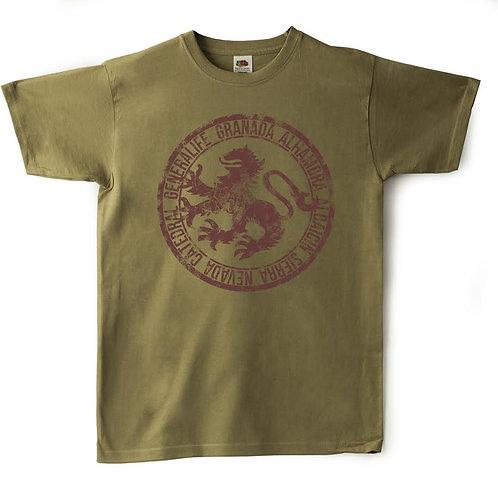 Camiseta Chico Souvenir de Granada Escudo Dragón
