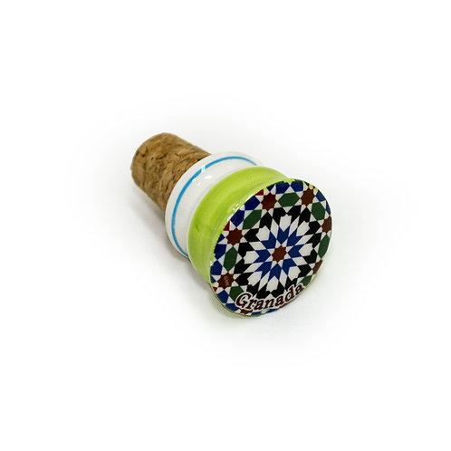 Tapacorchos para botellas de vino Souvenir de Granada