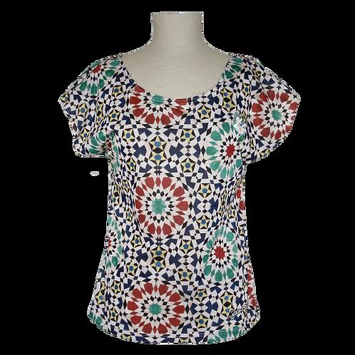 Camiseta Chica Mosaico Alhambra-Granada - Souvenirs España