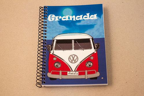 Libretas D´Granada - Furgoneta Volkswagen 1960