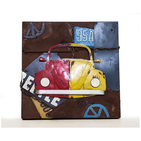 Cuadro Coche Beetle Volkswagen - Regalos Originales - D´Granada Souvenirs