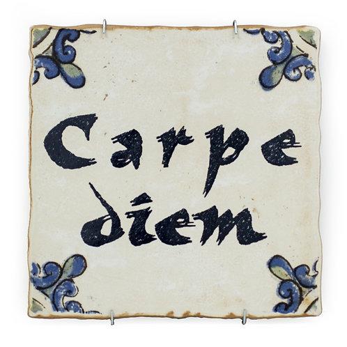 Azulejo Decorativo-Frases-CARPE DIEM