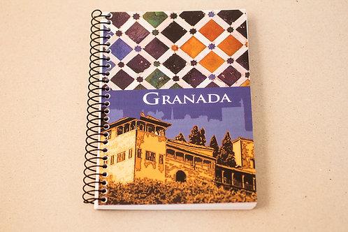 Libreta D´Granada Souvenirs - La Alhambra