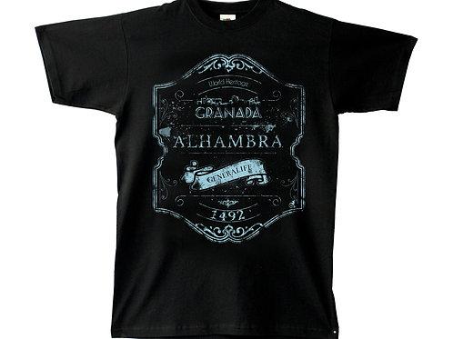 Camiseta Chico Souvenir de Granada Vintage