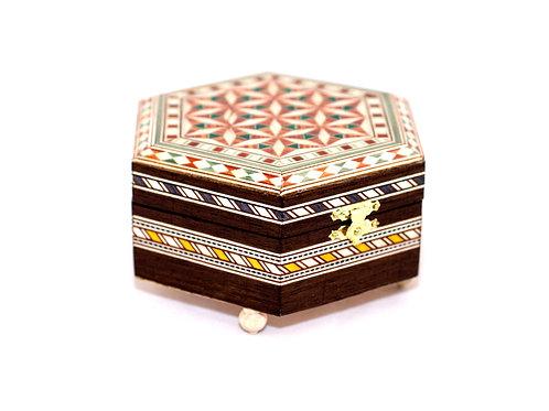 Caja Musical de Taracea - Souvenir de Granada - Handmade