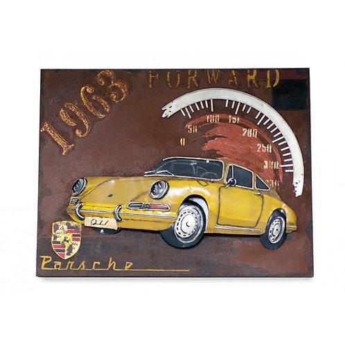 Cuadro Porsche 1963-Regalos Originales-D´Granada Souvenirs