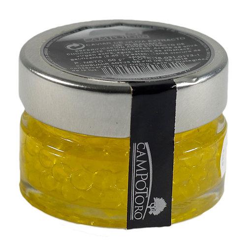 Caviar de Aceite de oliva virgen extra sabor albahaca -Productos Gourmet GRANADA