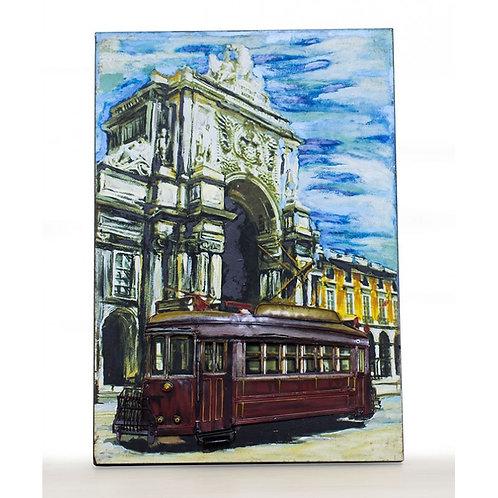 Cuadro Tranvía Deco-Regalos Originales-D´Granada Souvenirs