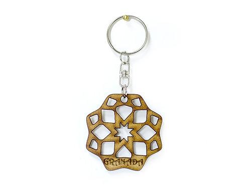 Llaveros D´Granada Souvenirs de Madera