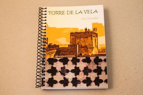 Libreta D´Granada Souvenirs - Torre de la Vela - La Alhambra