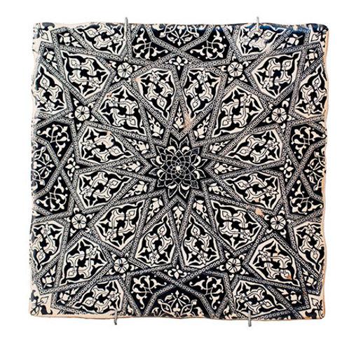 Azulejo D´Granada Mosaico Fractal Alhambra Decoración