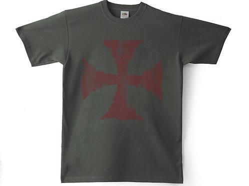 Camiseta Chico Souvenir España Cruz Templaria