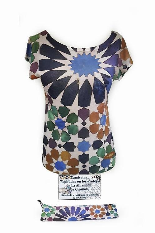 Conjunto Chica D´Granada  - Mosaico Alhambra