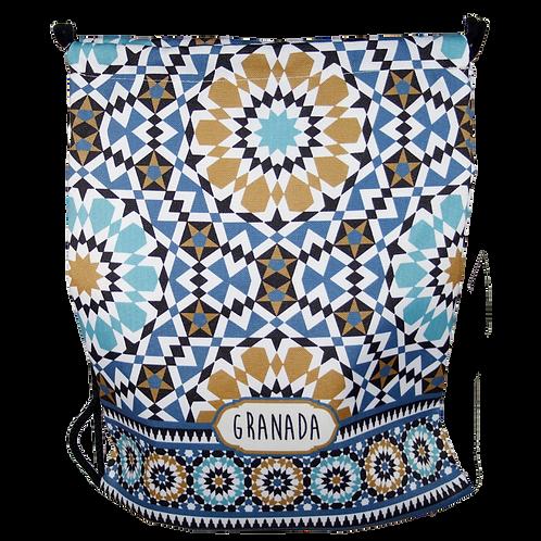 Mochila Mosaico Alhambra - Producto Exclusivo D´Granada Souvenirs