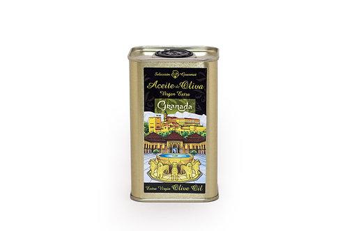 Aceite de Oliva Virgen Extra de Granada - Lata Patio de los Leones