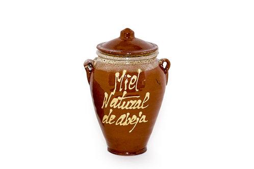Miel de abeja natural de Granada en vasija de barro -Productos Gourmet