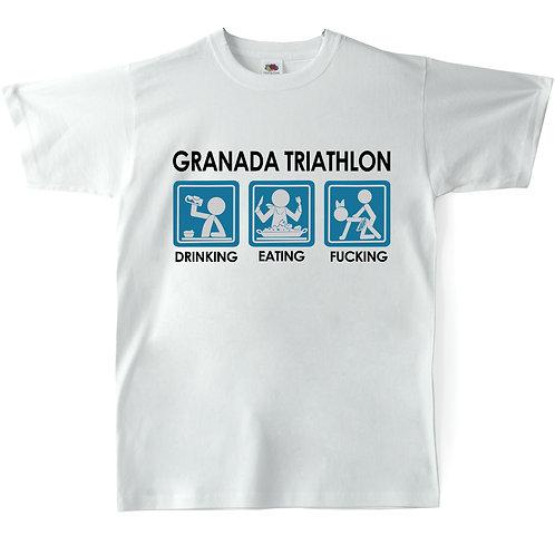 Camiseta Chico Souvenir de Granada - Triatlón