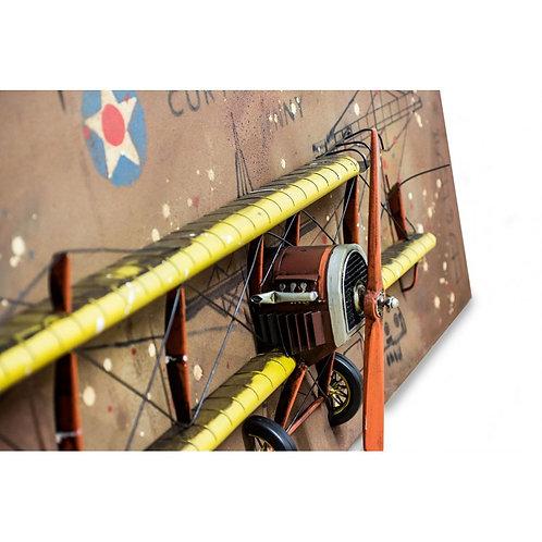 Cuadro Curtiss Aeroplano Americano - Regalos Originales-D´Granada Souvenirs