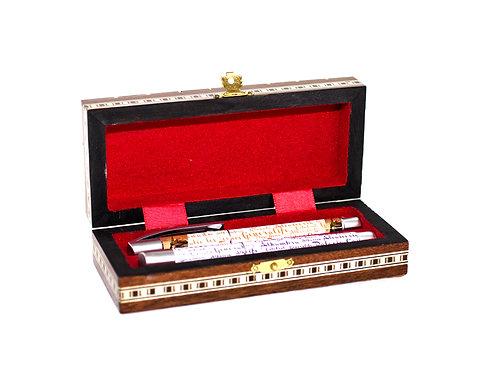 Caja Portabolis Taracea - Souvenir de Granada