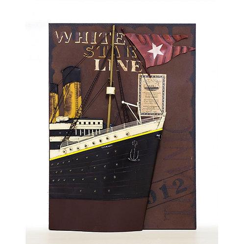 Cuadro Barco Titanic -Regalos Originales-D´Granada Souvenirs