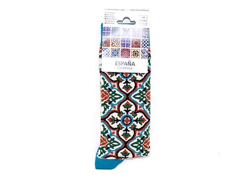 Calcetines Mosaicos Alhambra - Souvenirs Granada