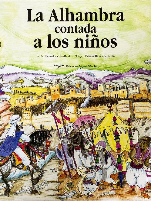 Libro Cuento de la Alhambra para niños - Granada