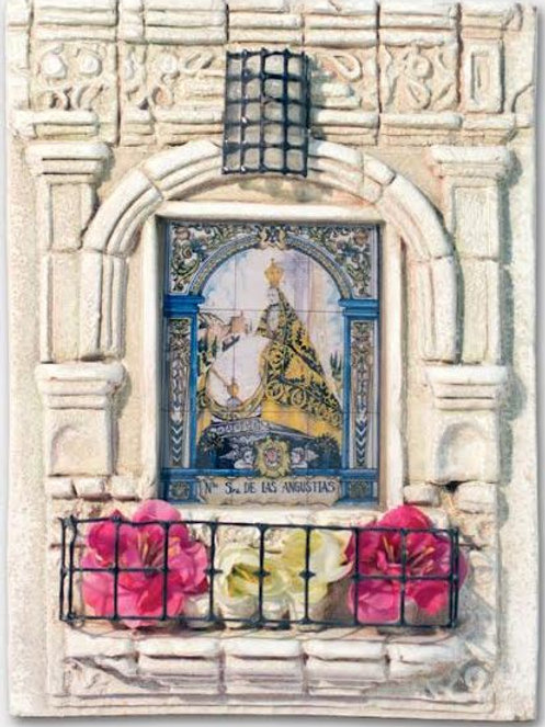 Balcones Andaluces Souvenir Patrona de Granada Virgen de las Angustias